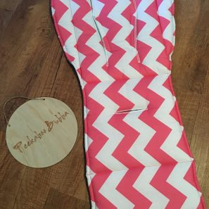 Hot pink chevron pram liner min 297x297 - Chevron Hot Pink Custom Fit Pram LinerLimited time availability-discontuning