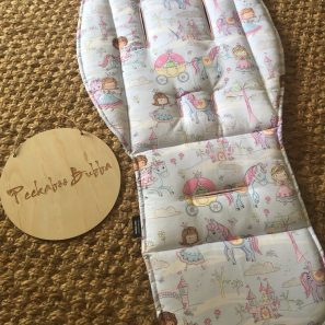 Unicorn princess pram liner min e1500522608833 297x297 - Unicorn Princess Custom Fit Pram Liner