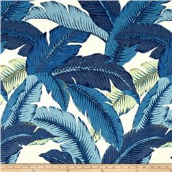 OUT OF STOCK Bahama leaf blue (regular polyester fabric)