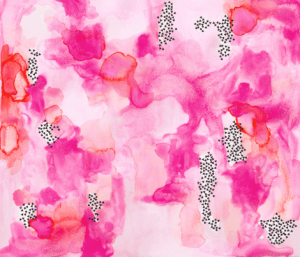 Water colour pink (premium print fabric)