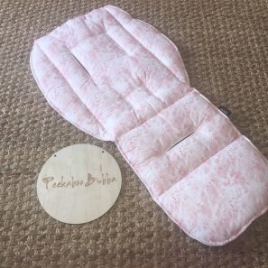 image4 297x297 - Marble dusty Pink Custom Fit or Universal Pram Liner (Premium fabric)