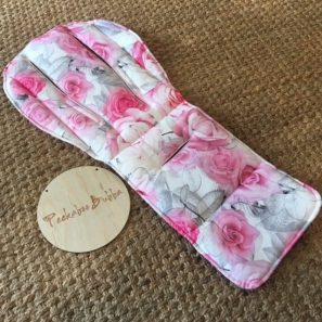 image1 min 297x297 - Roses Pink Custom Fit or Universal Pram Liner (regular fabric)