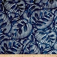 OUT OF STOCK Leaf lapis navy (regular fabric)