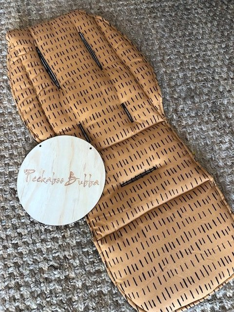 image1 - Rusty lines Custom fit or Universal Pram Liner Limited edition only! (regular fabric)